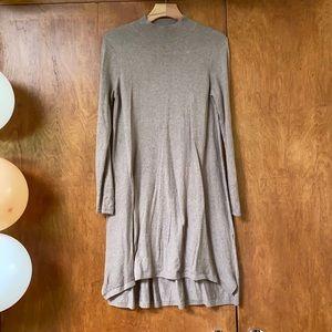 ASOS Taupe Sweater Dress